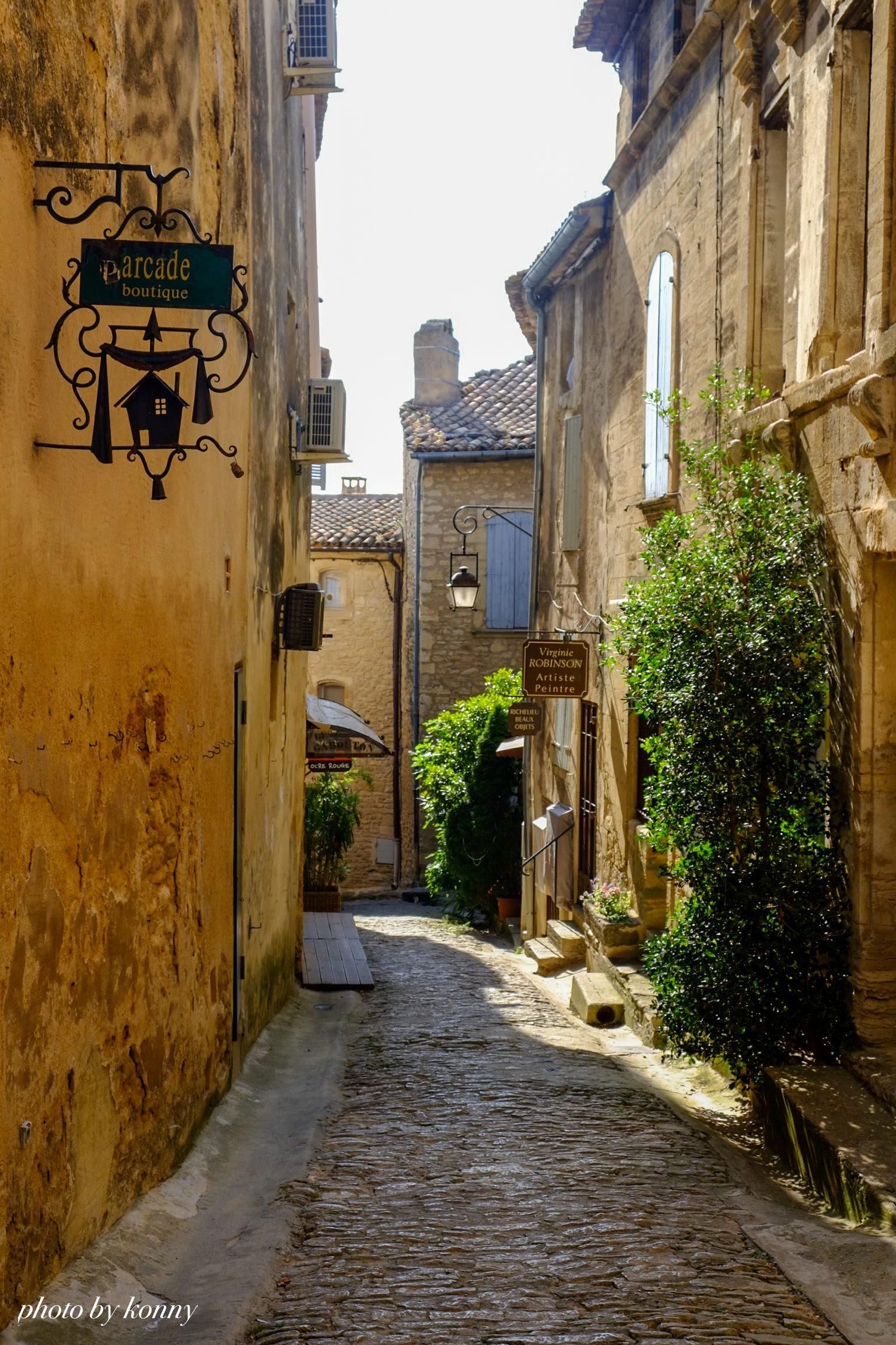 フランス 最も美しい村 ゴルド