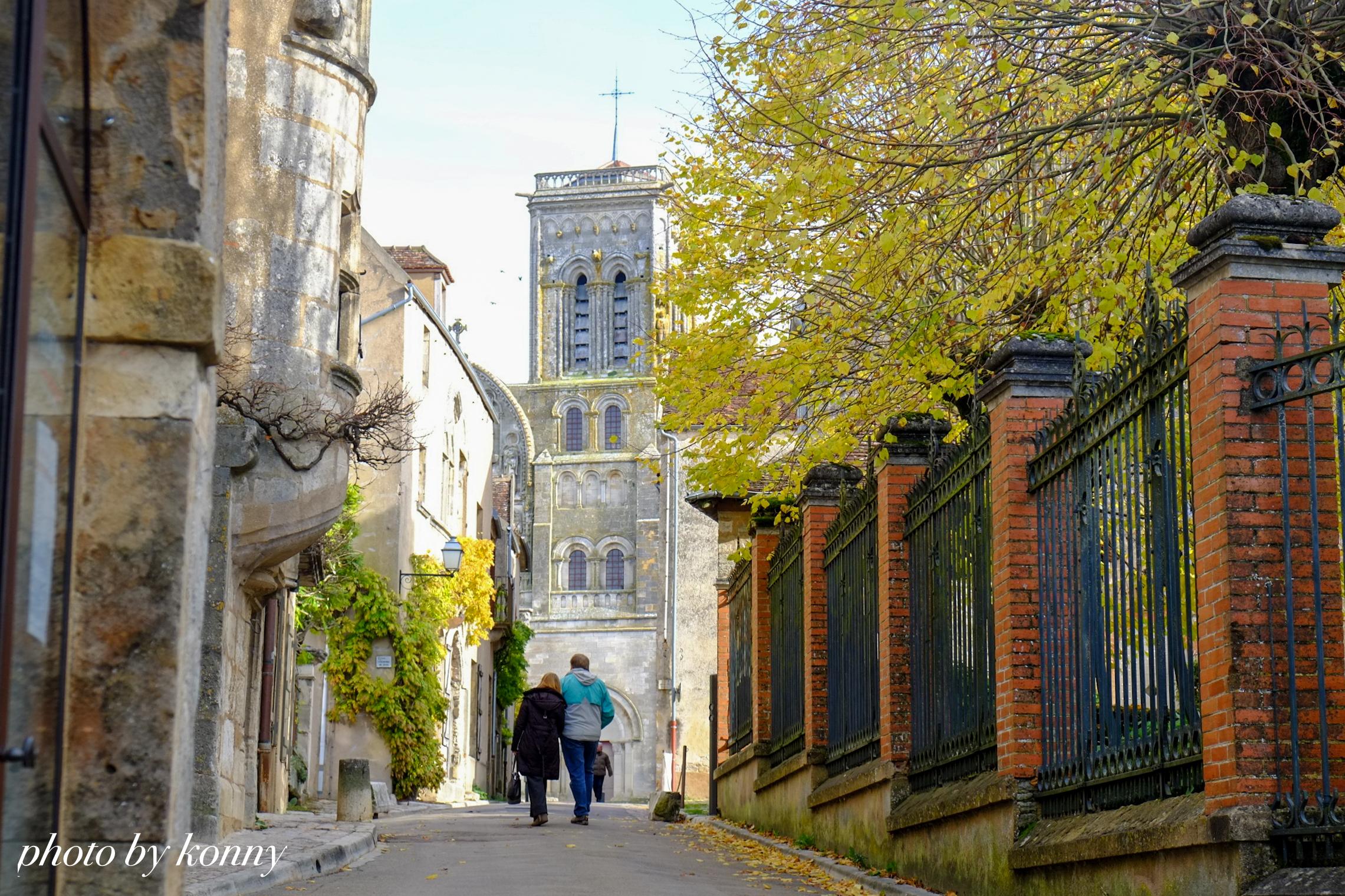 フランス 最も美しい村 ヴェズレー