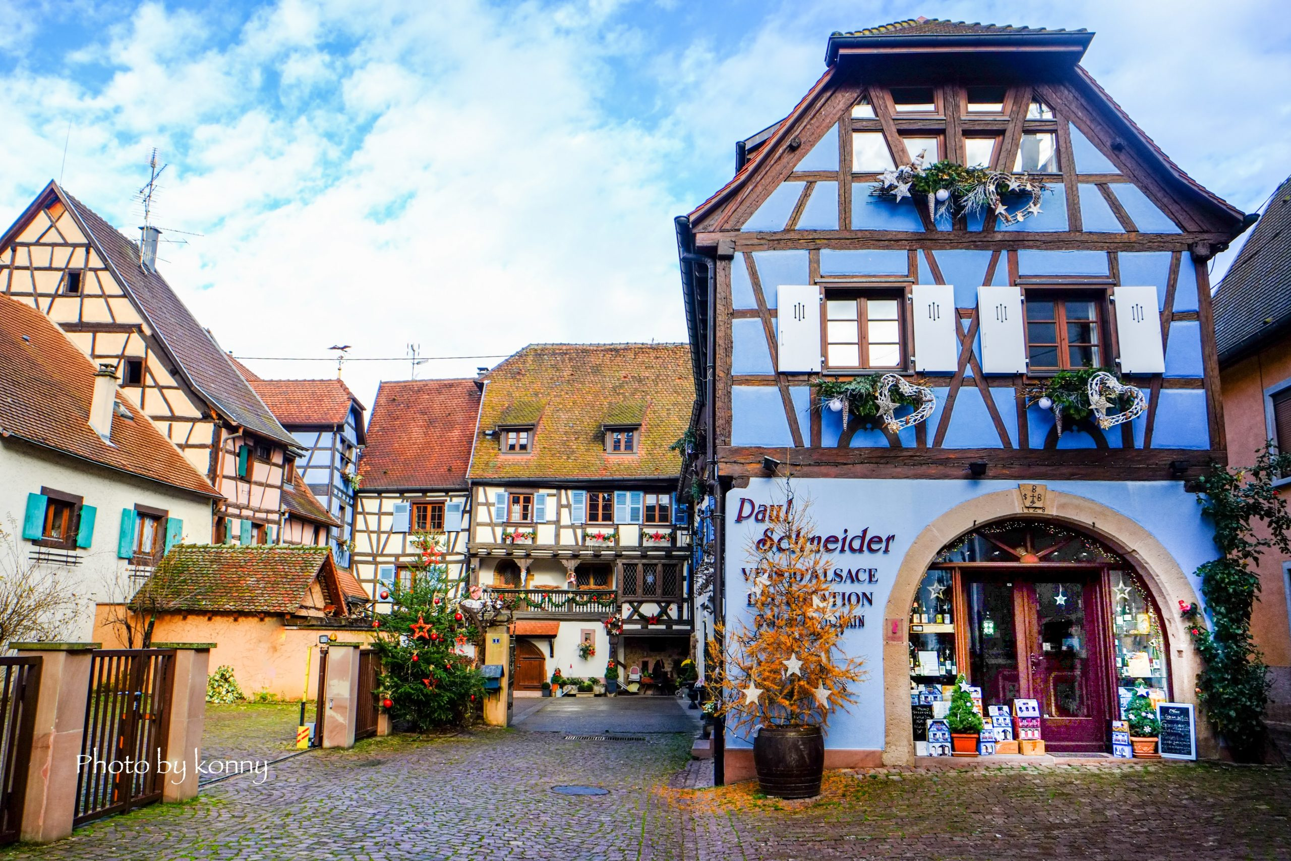 フランス 最も美しい村 エギスハイム