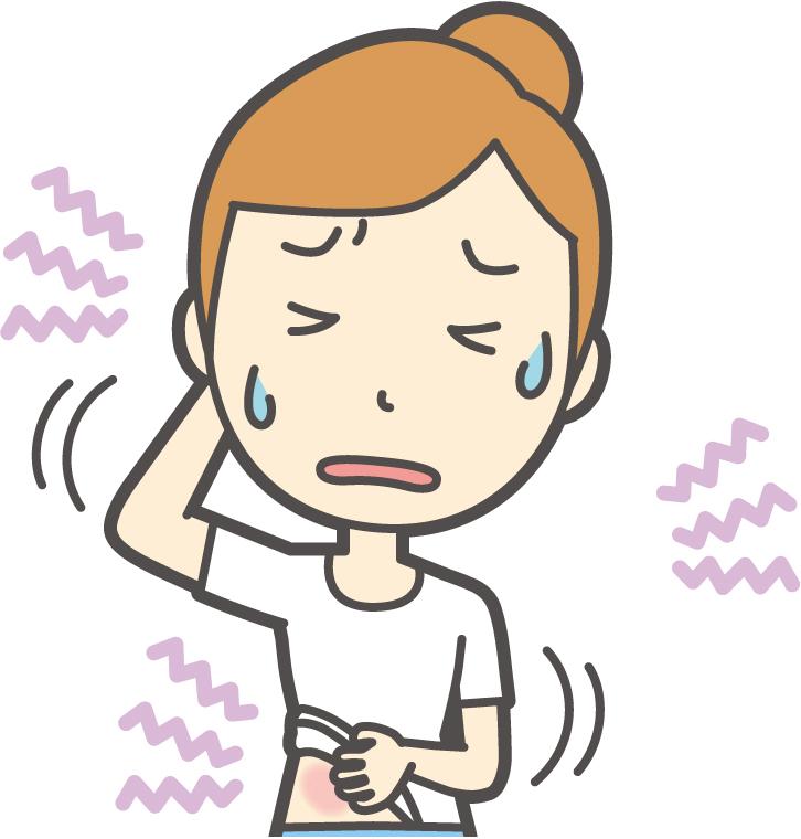 乾燥肌や敏感肌 肌がかゆくなる原因